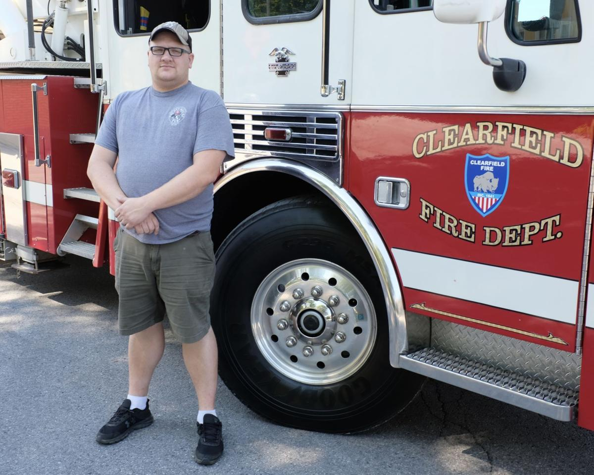 Deputy Fire Chief Andrew Smith of Clearfield Borough Fire Department
