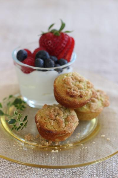 Sneak some healthy, green fats into morning muffin treats