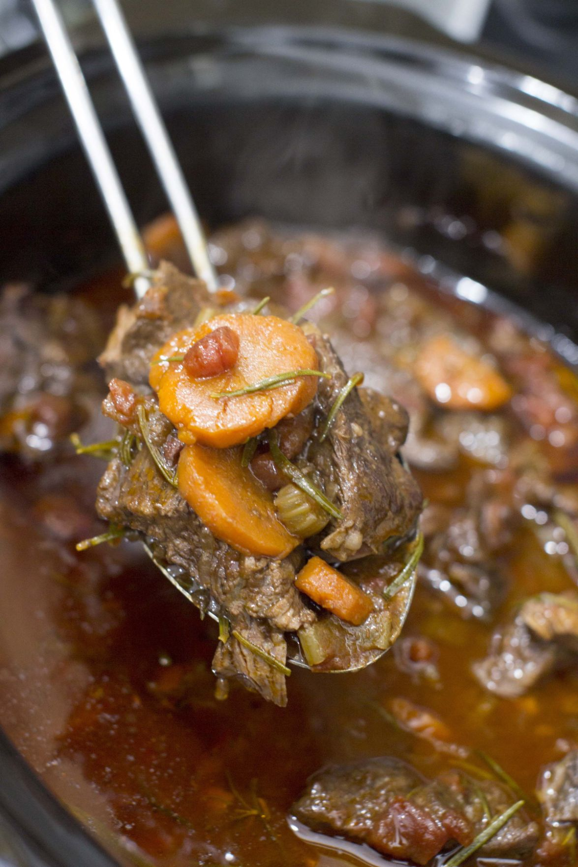 Wine-braised short ribs prove worth of slow cooker