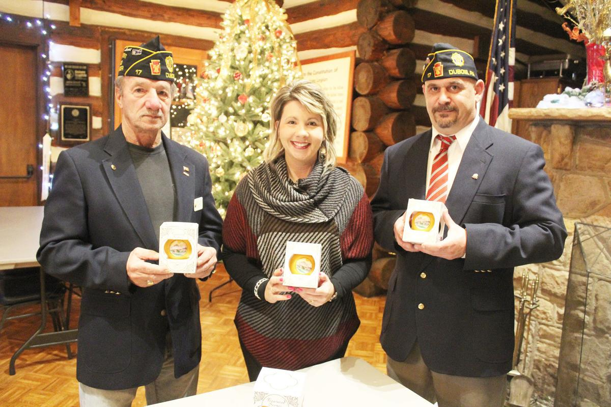 DuBois American Legion Post 17 featured on Chamber ornament