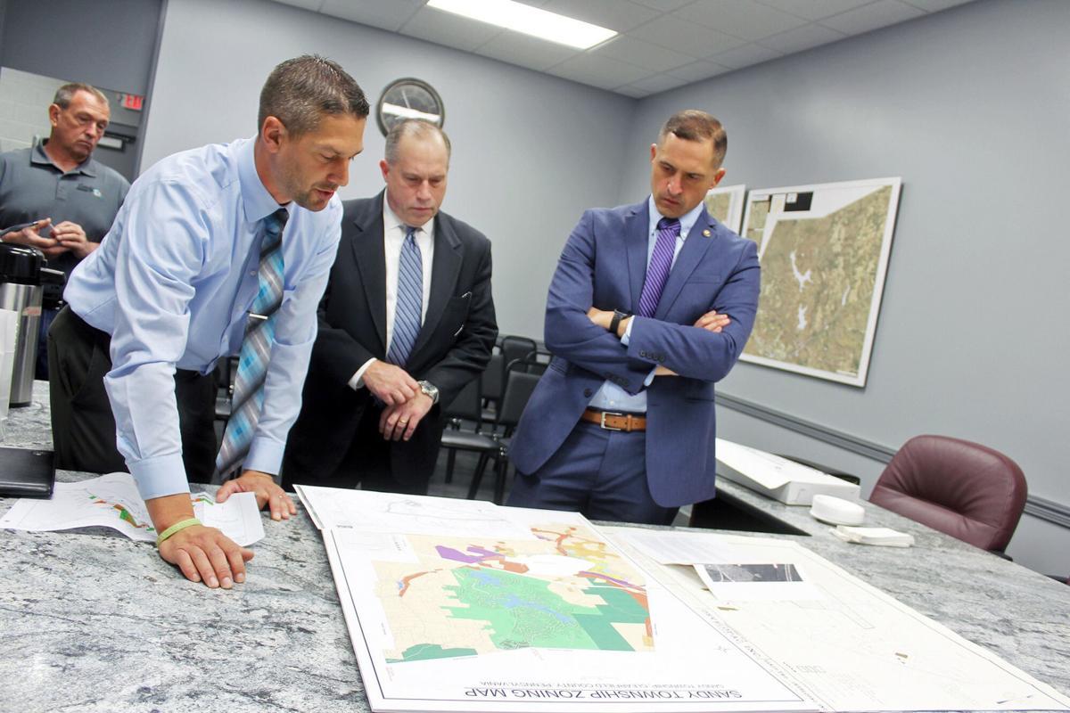 HUD official visits Sandy Township/DuBois