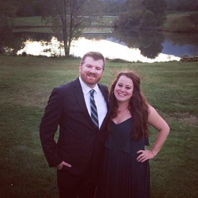 Ryan Lightner and Sarah Bauer