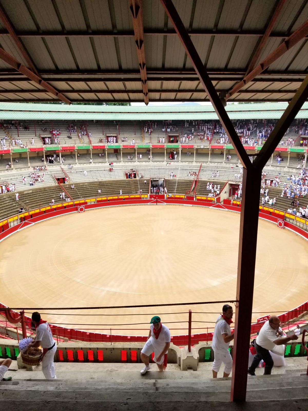 The arena in Pamplona