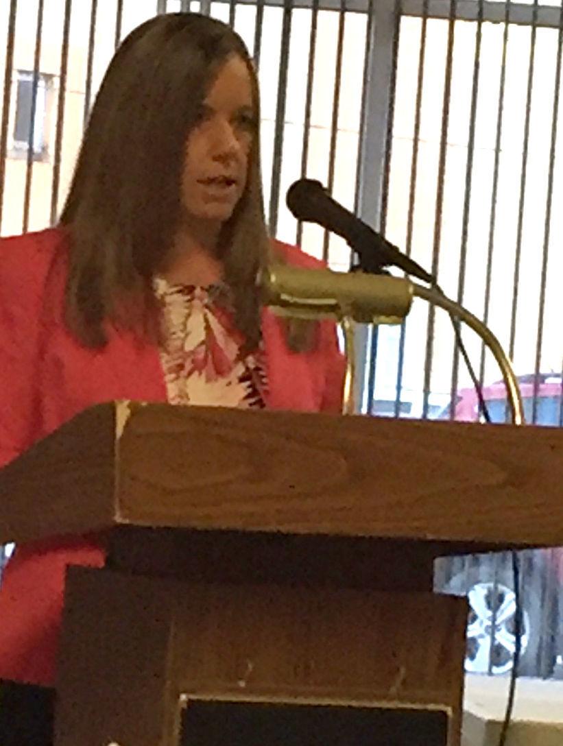 Beth Bittner speaks at Brookville Chamber event