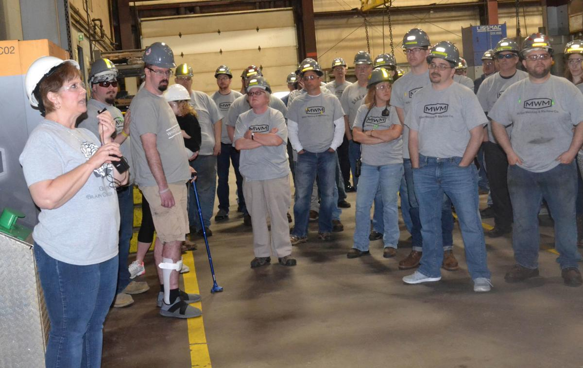 More than coworkers at Miller Welding & Machine Co.