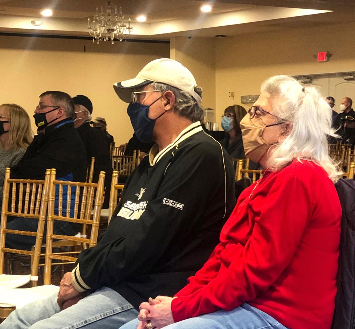 Attendees at DuBois-Sandy Twp. consolidation study meeting