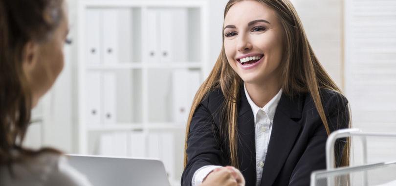 Make winning small talk in a job interview