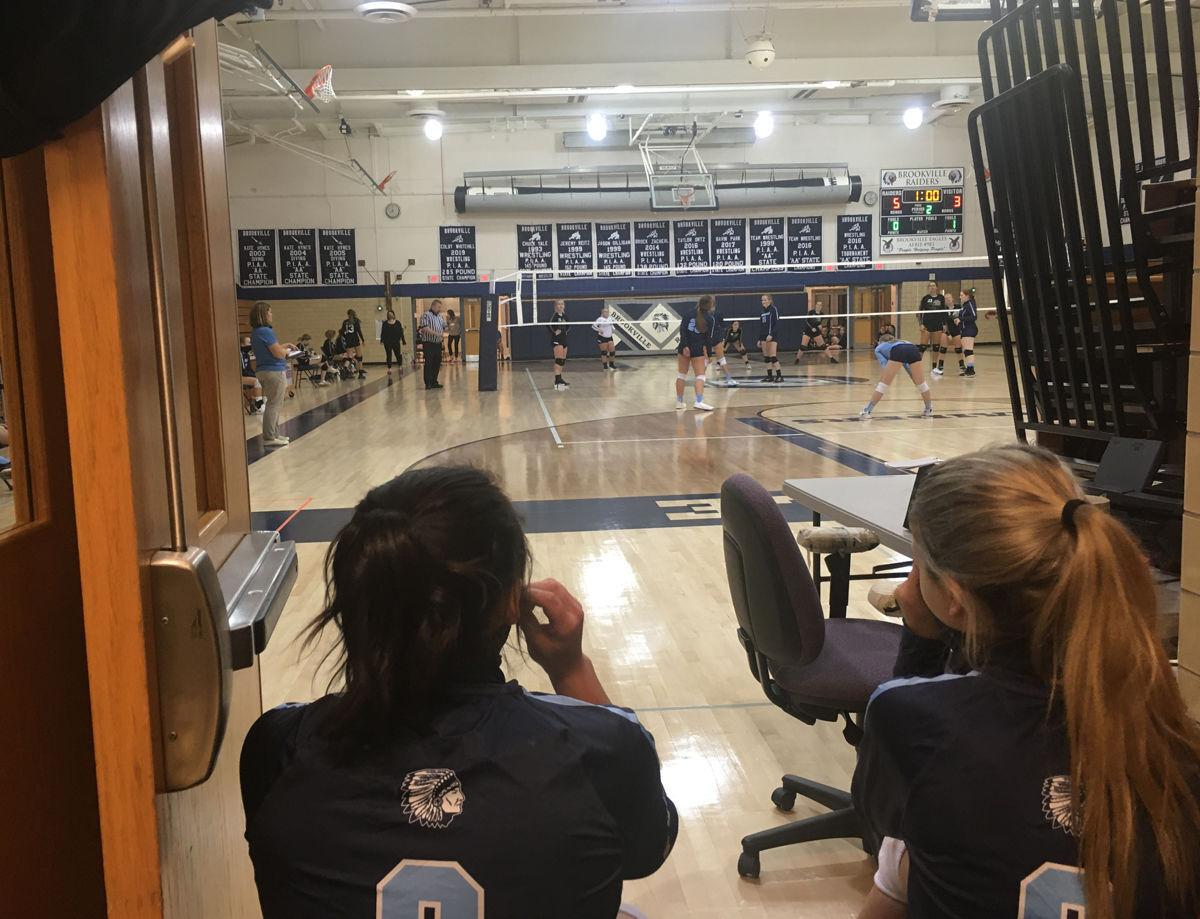Brookville VB watching from hall