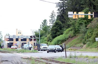 DuBois railroad tracks