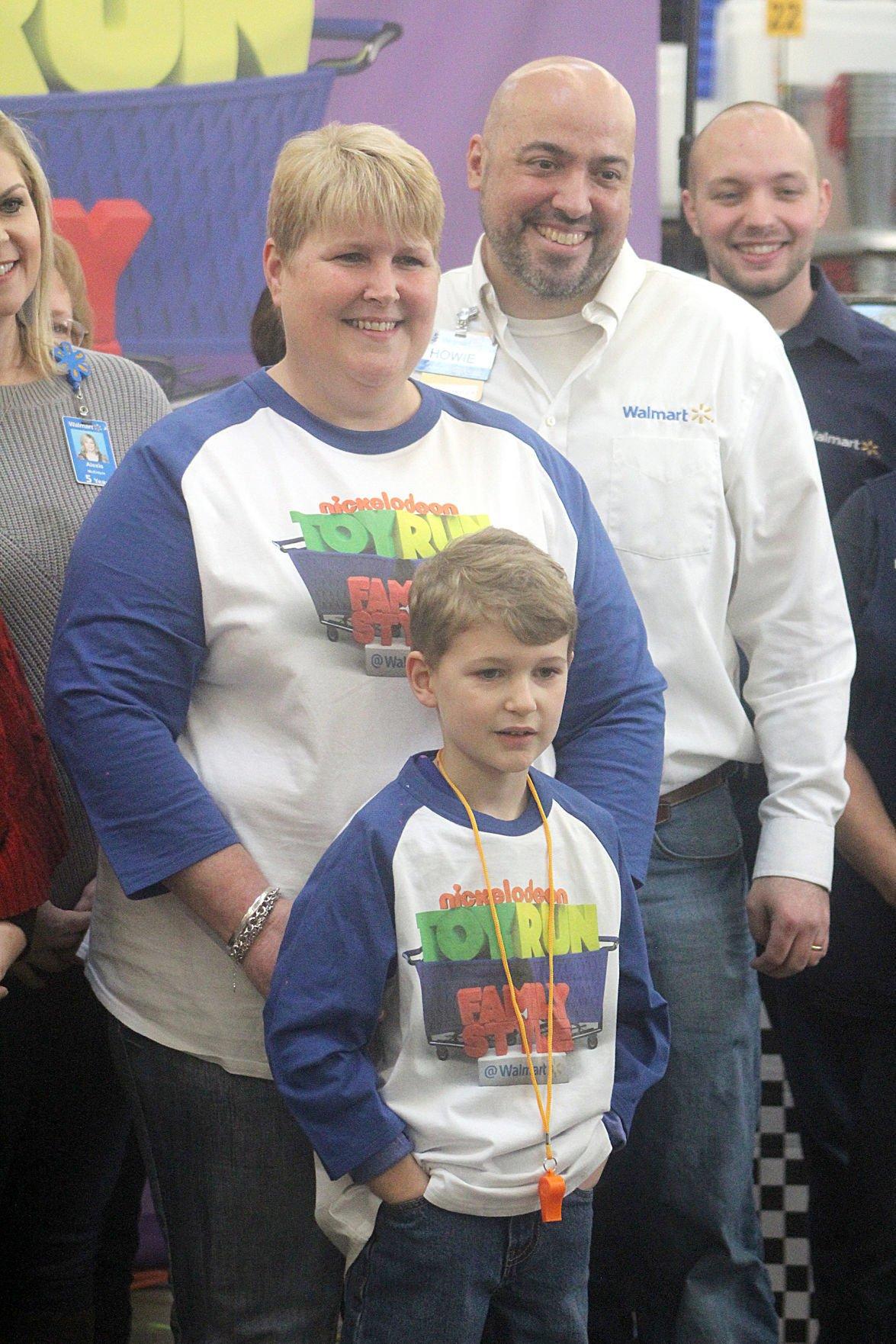 Keegan with mom