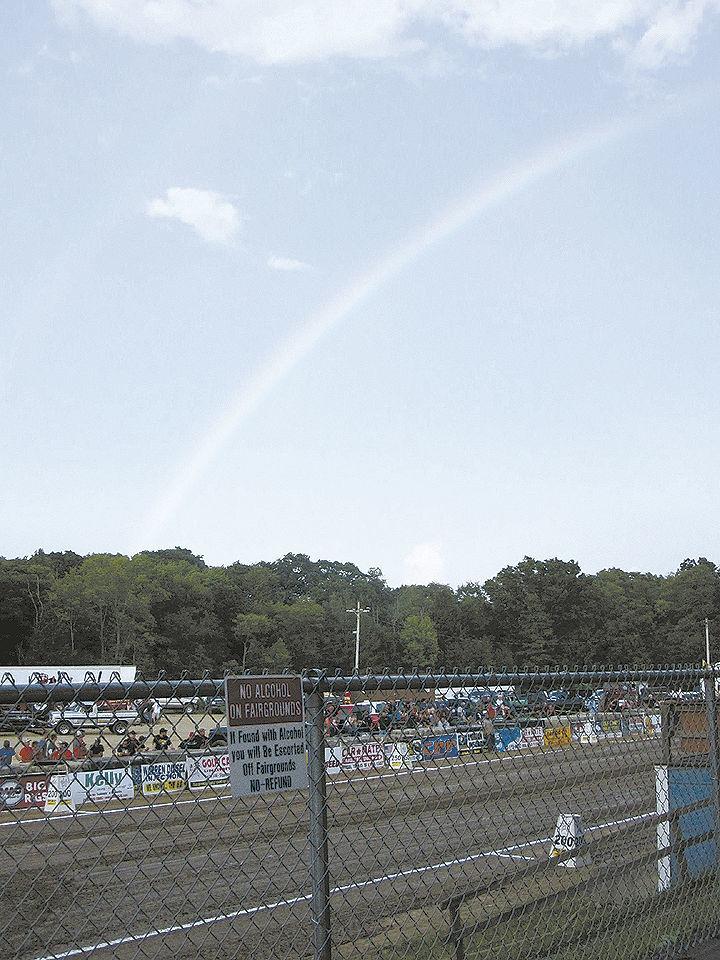 Rainbow at the Jefferson County Fair
