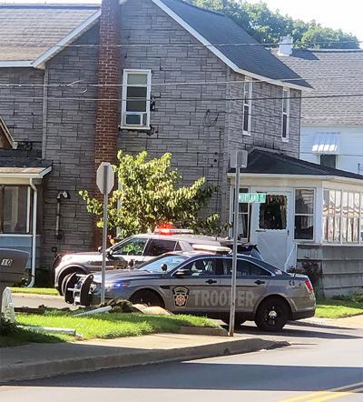 Police surround house