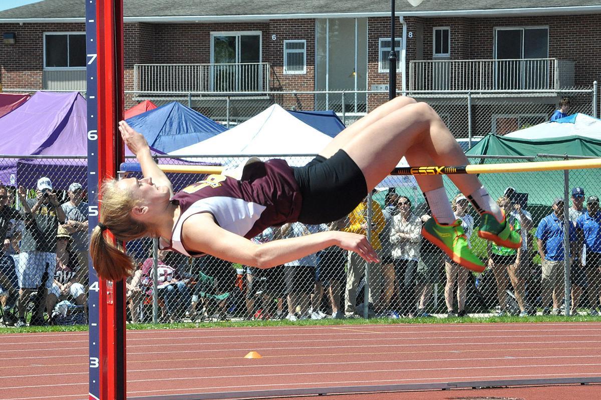 Taylor Newton high jump