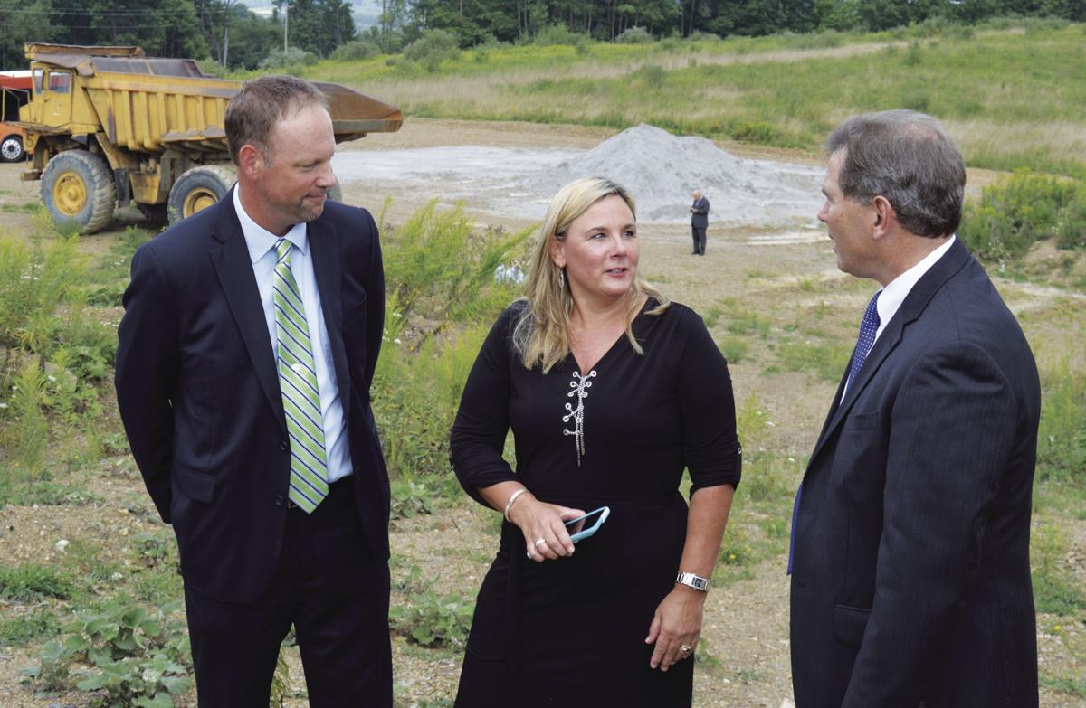 DCED Secretary visits site