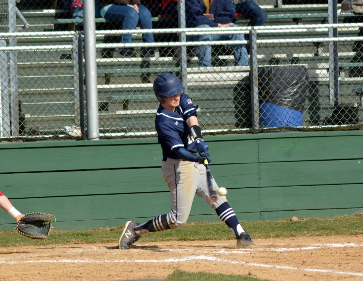 Seth Dunkle hit vs. St. Marys