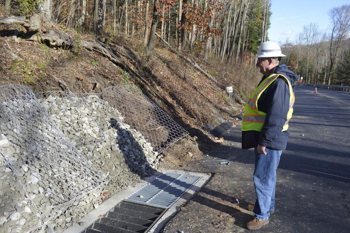 Route 255 project inspected
