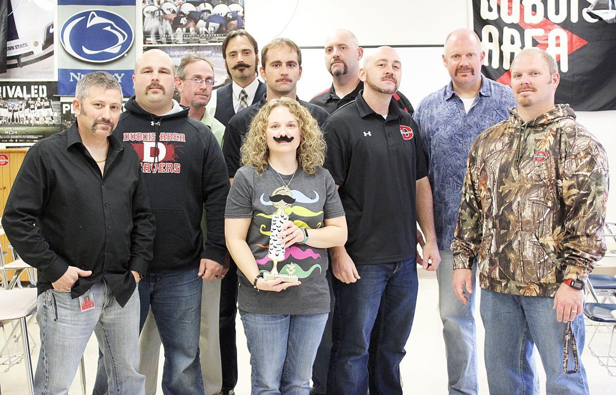 DAHS mustache contest