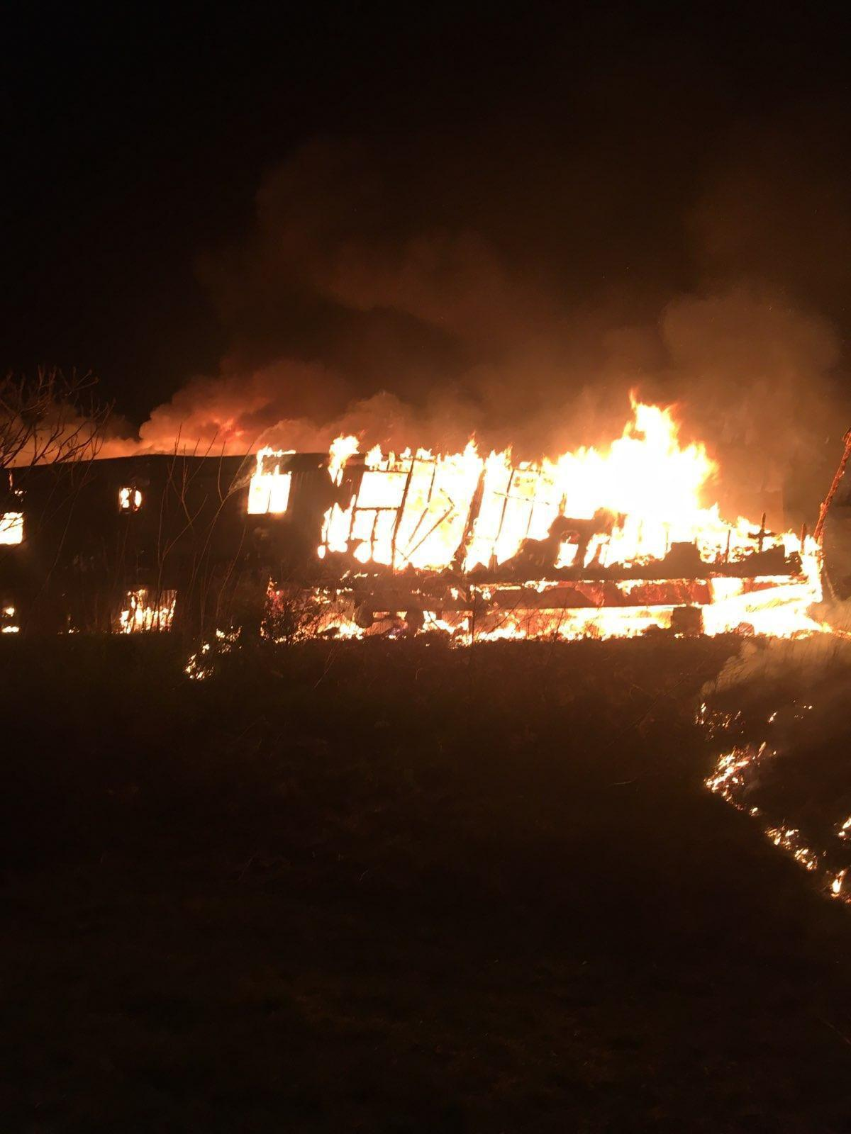 Fire at abandoned mobile home ruled arson