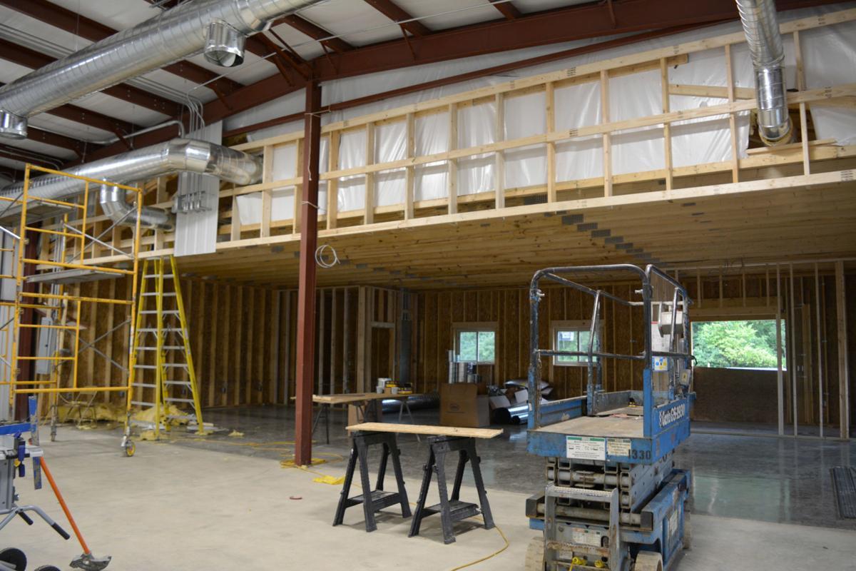 Inside: Addition construction