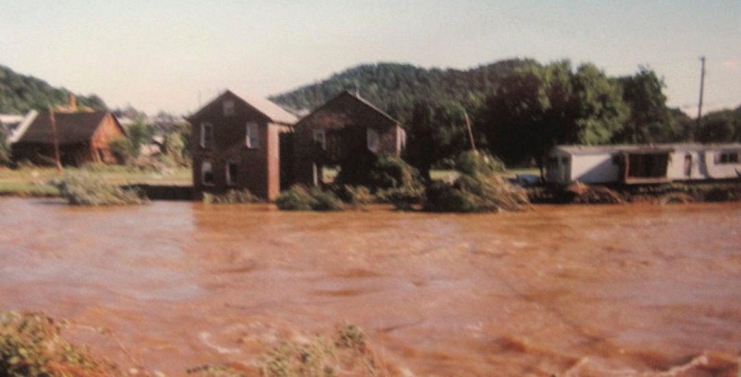 Summerville during 1996 flood