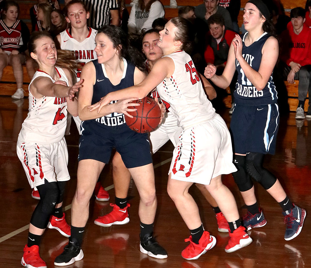 Jenna Grant rebound vs. Redbank Valley