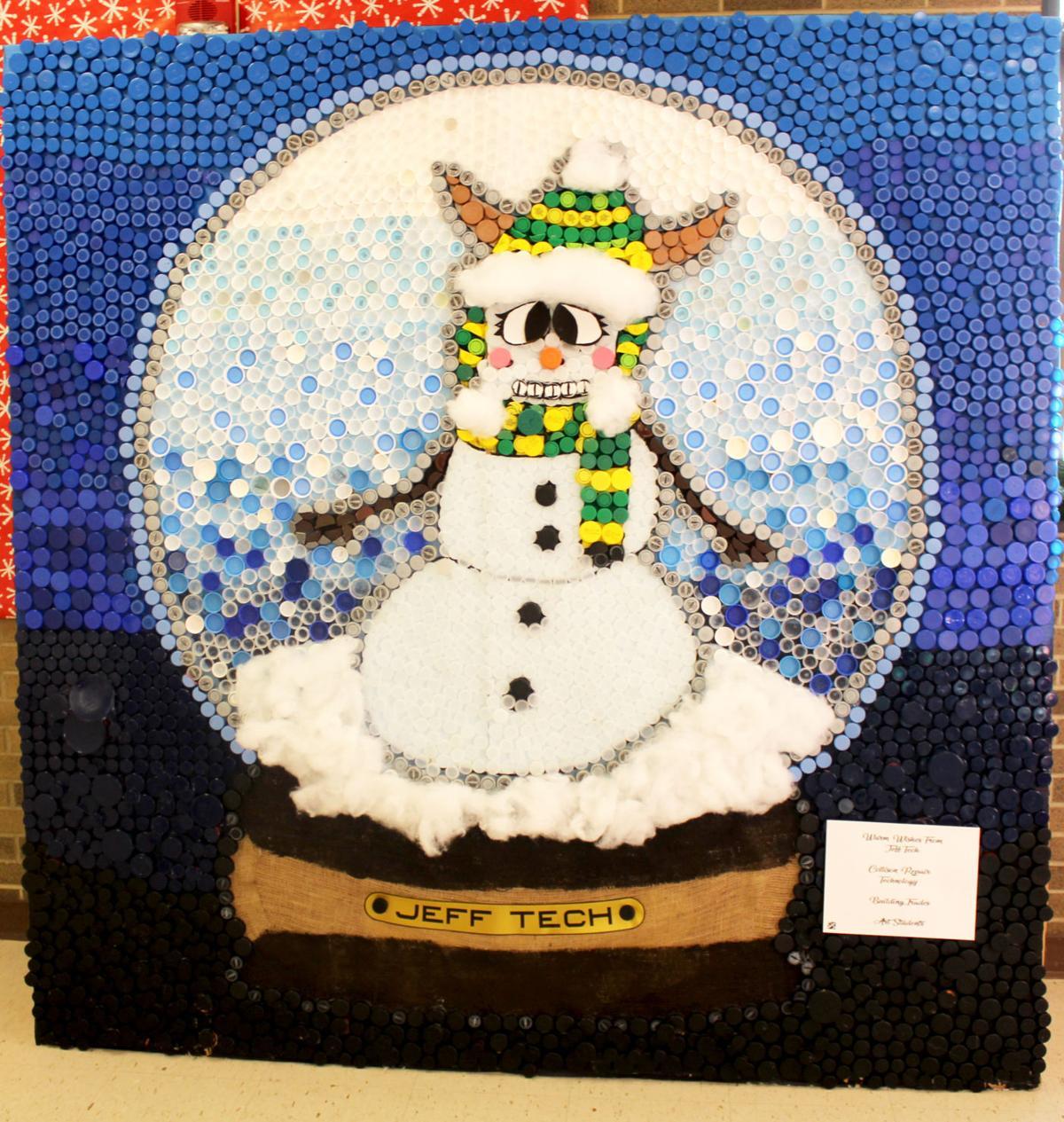 Viking snowman