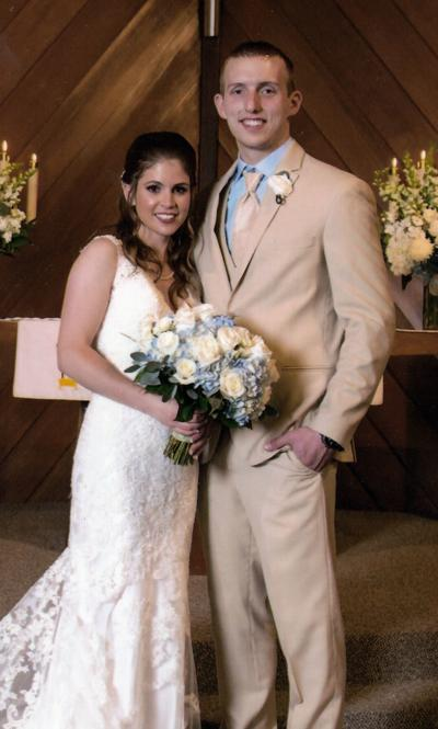 Calcagni, Russell united in marriage