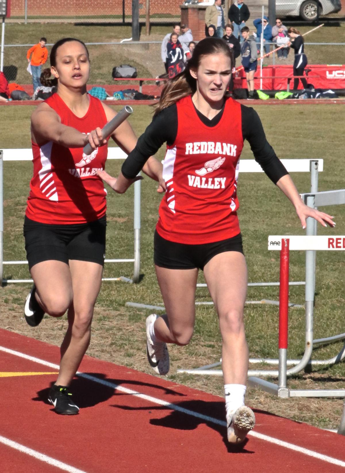Clark and Clouse 4x100 relay