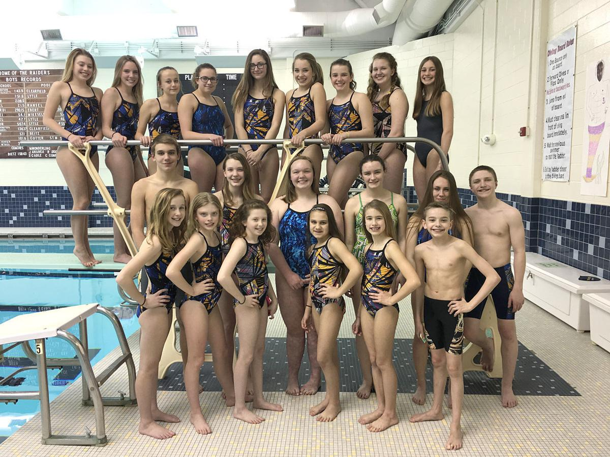 YMCA District swimming qualifiers