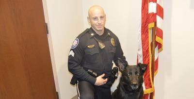 Sgt. Shaffer and K9 Nando