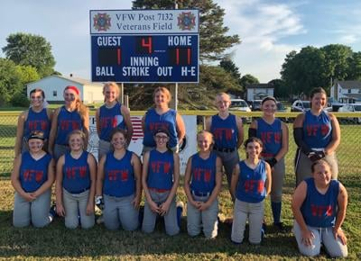 Rimersburg VFW junior softball