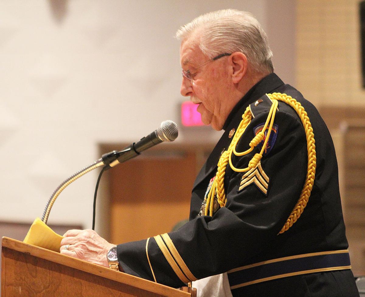 DuBois Area Honor Guard commander