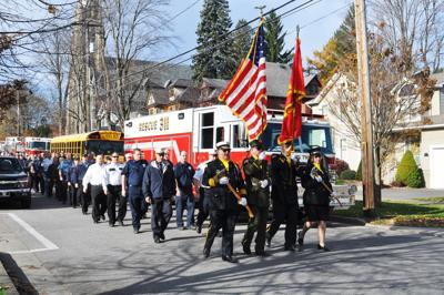 Firefighter honored