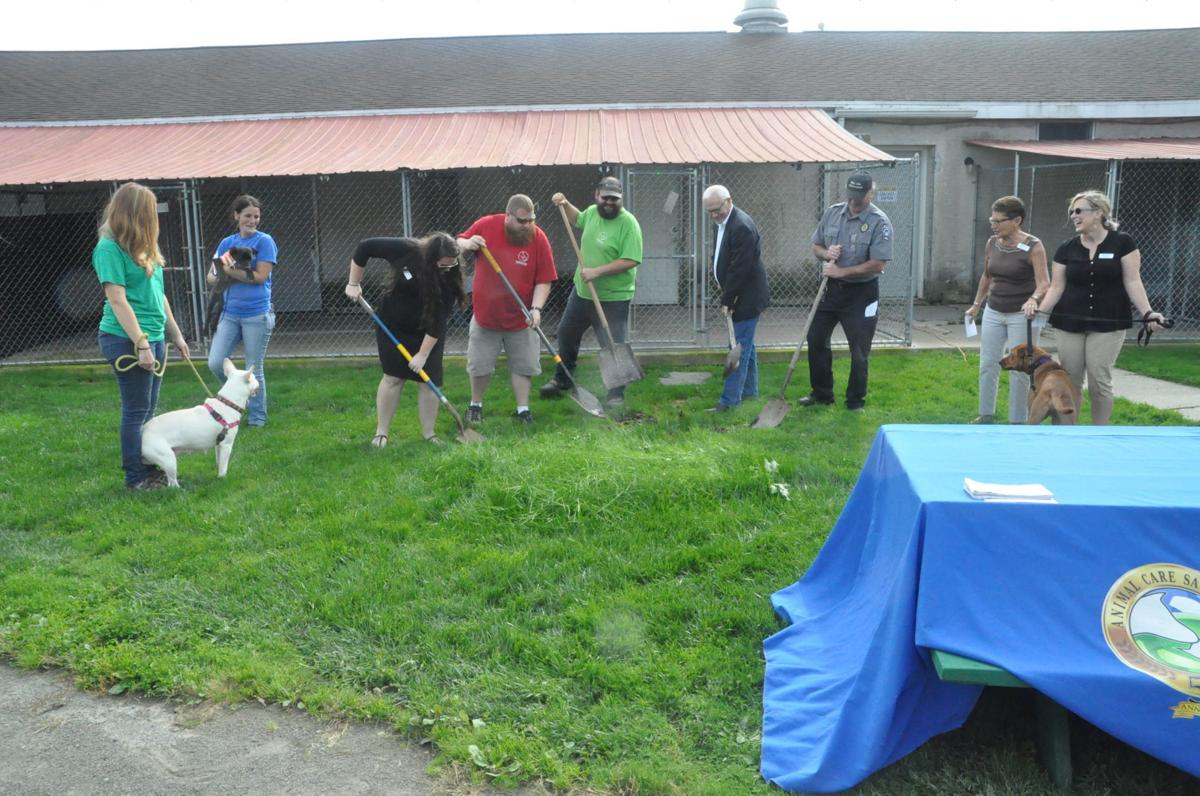 ACS breaks ground on better space for dogs