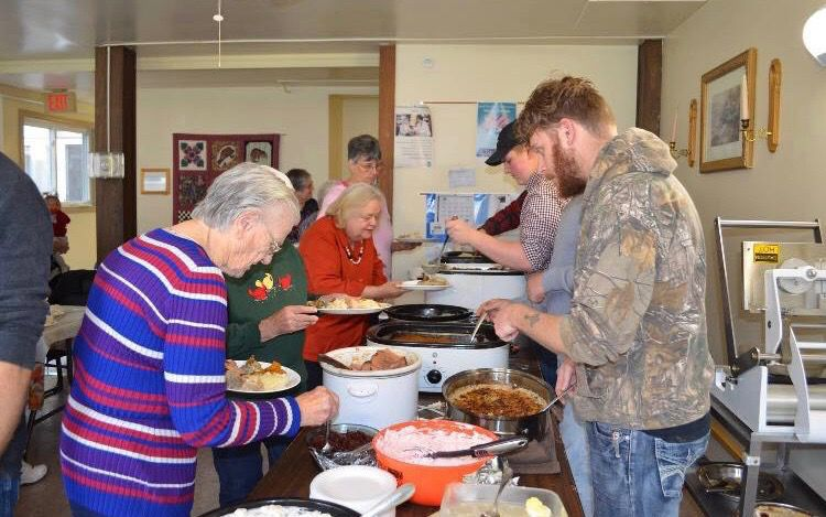 A feast for body and spirit; 7th annual free Thanksgiving dinner to be held in Troy
