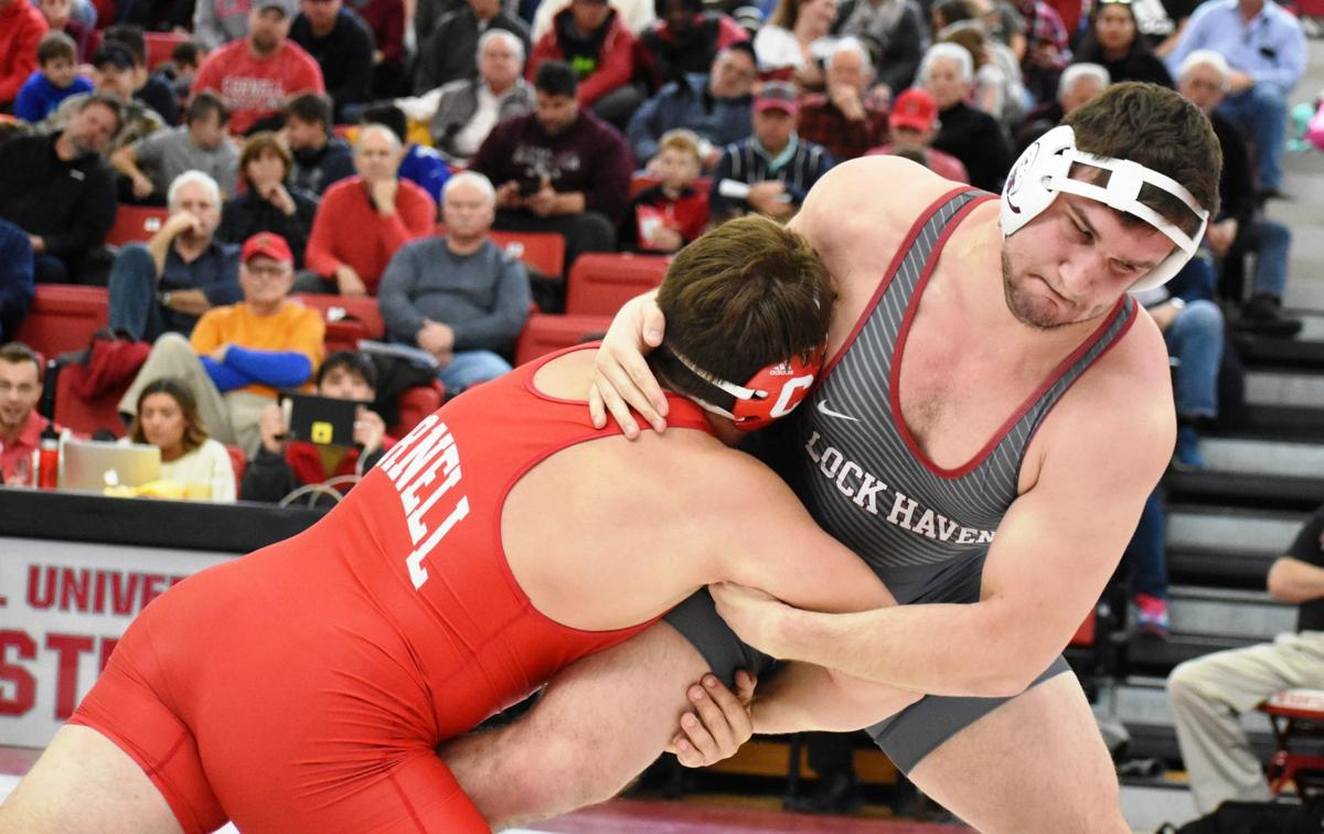Cornell wrestling downs Lock Haven | Sports | thedailyreview com
