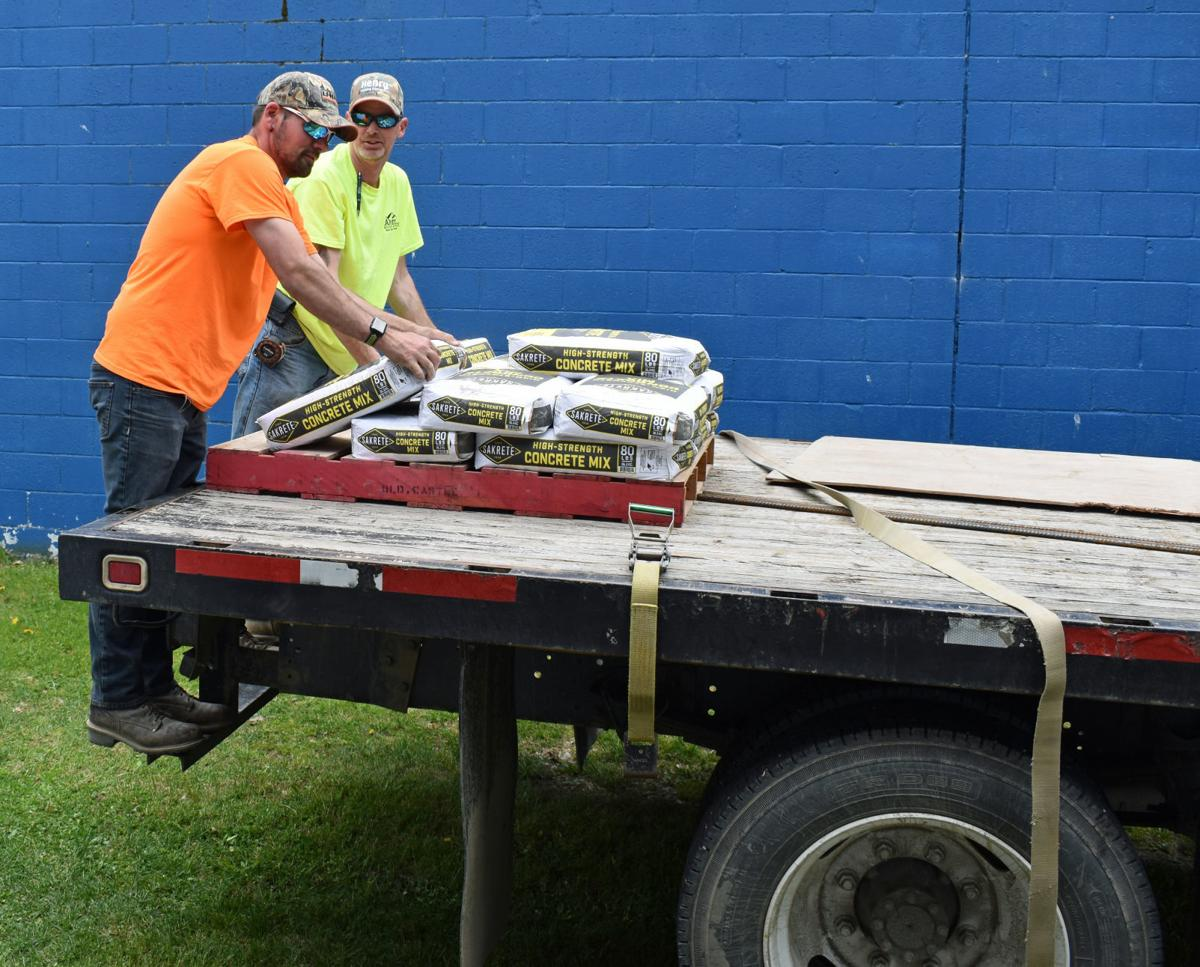 Arey Building Suppy helps with major Riverside Cemetery refurbishing