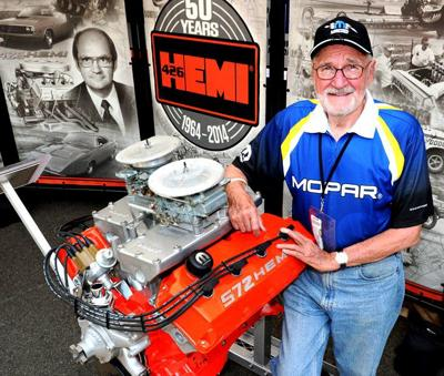 TomHoover in 2014 with a 572 inch Hemi crate motor 2.jpg