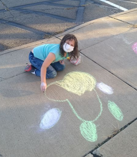 Art and appreciation; Towanda girl uses her talent to thank local police department