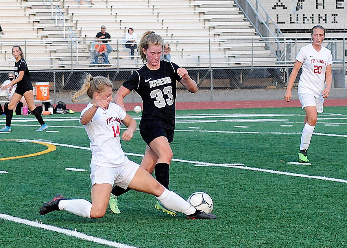 Athens rallies against Troy