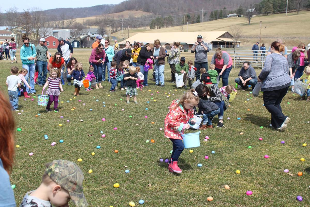Easter eggs and Troy Fair royalty   Local/Regional