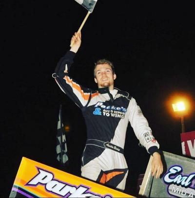 Rome native Austin Bishop grabs career first 360 Sprint Car win