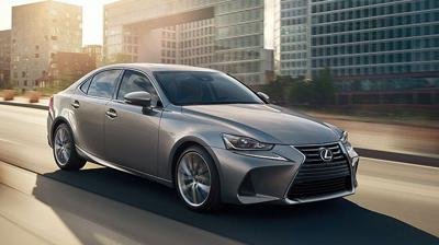 2019 Lexus-IS front side in atomic silver action 2.jpg