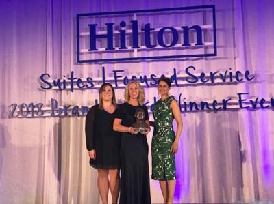 Hampton Inn by Hilton in Sayre wins second Connie Award