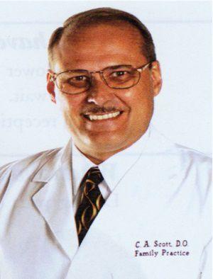 Dr. Clarence Albert Scott, DO, 68