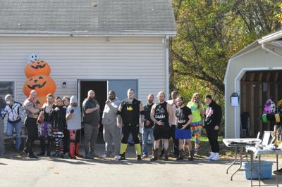 Festive Fundraising: Northern Tier Wresting at the Wysox Haunted House