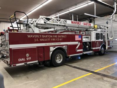 Waverly Barton Fire District to put new fire trucks into service