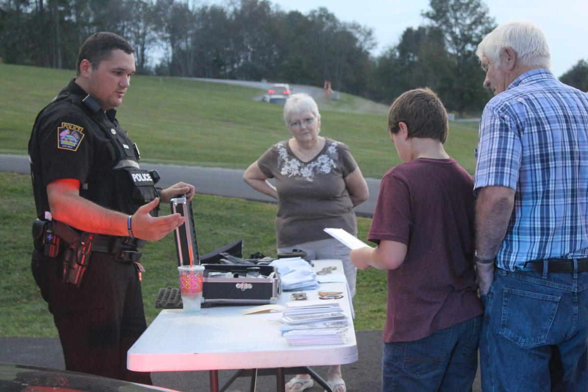 Learning safety and saluting responders; Fire and Ice Safety Night returned to Troy
