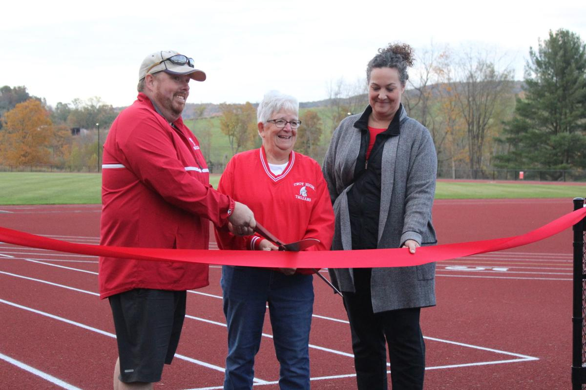 A legacy continued; Troy Track facility officially opened