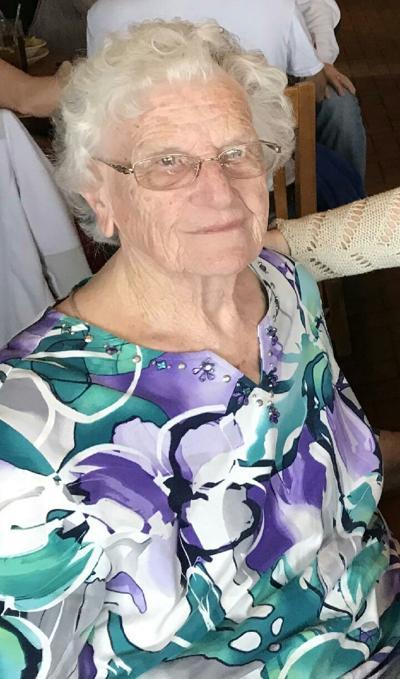 Polly R. (Clark) Wright, 90